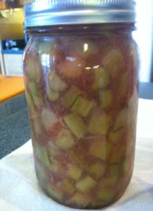 Canning Rhubarb Pie Filling