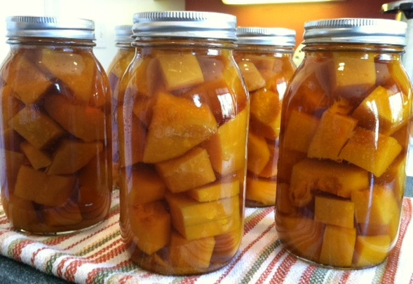 Pressure Canning Winter Squash – Butternut Soup Base