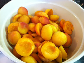 Canning Peaches and Apricots from Las Vegas