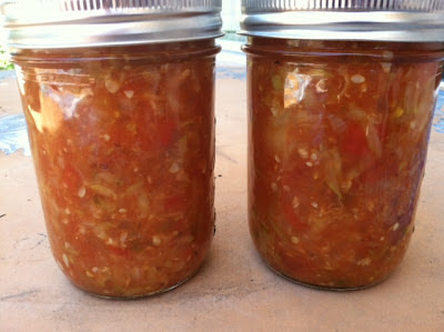 Double Canning Night – Fig Jam and Zuchini Salsa OMG!
