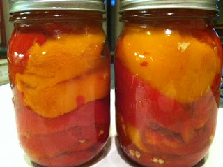 Canning Marinated Red Peppers – Yes it's safe!