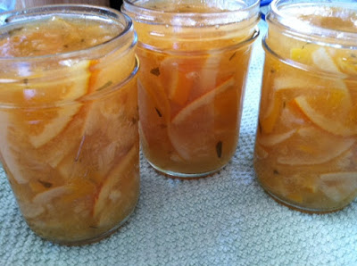 Meyer Lemon and Tarragon Marmalade