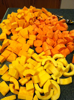 Canning for Fall – Squash, Pumpkin, and Sweet Potatoes