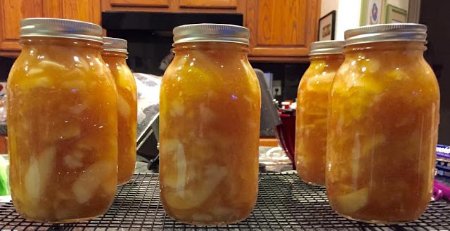 Pear Pineapple Pie Filling