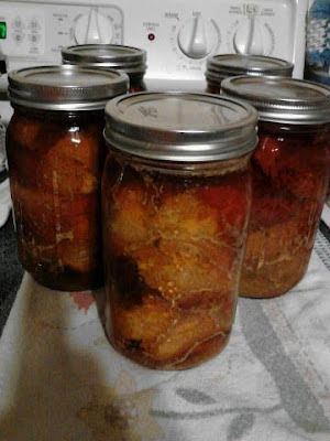 Canning Apple Butter Pork