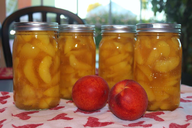 Peach Pie – Filling is better from jars!