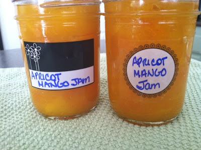 Canning Apricot Mango Jam