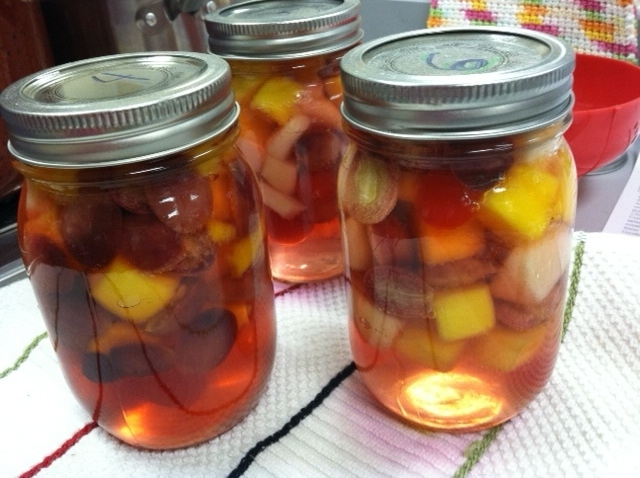 Canning Mixed Fruit – Better in a Jar!