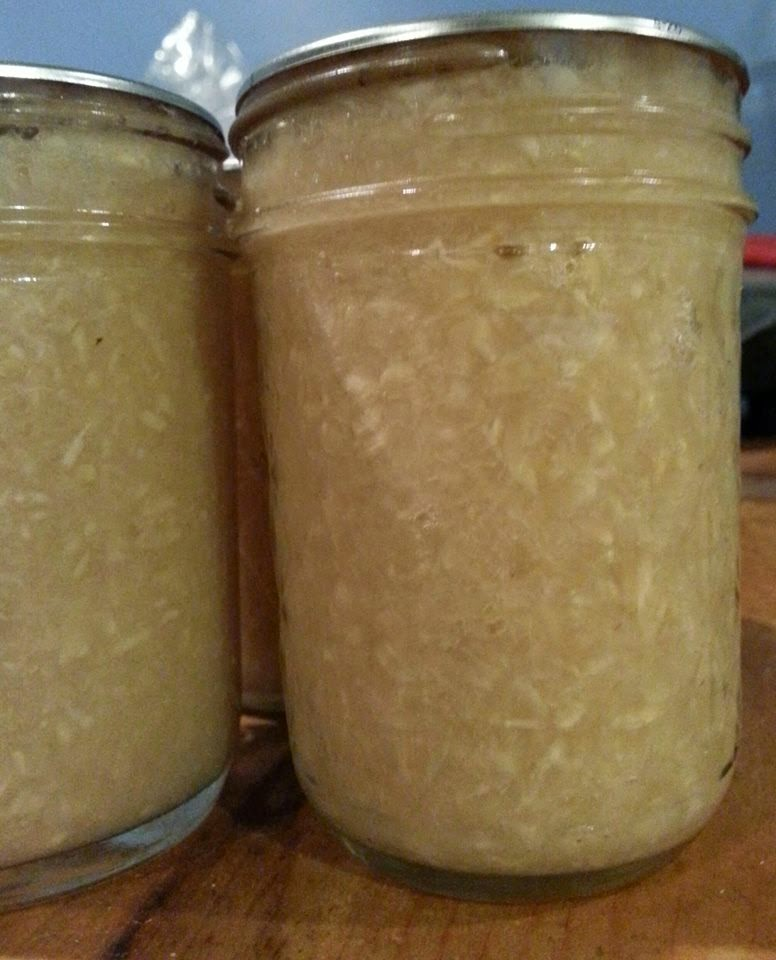 Canning Pickled Horseradish