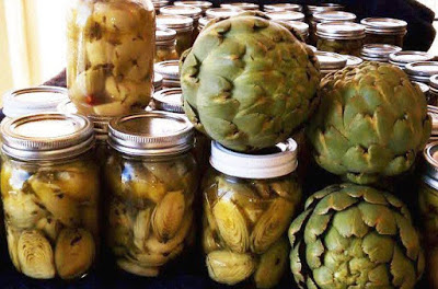 Canning Pickled Artichokes