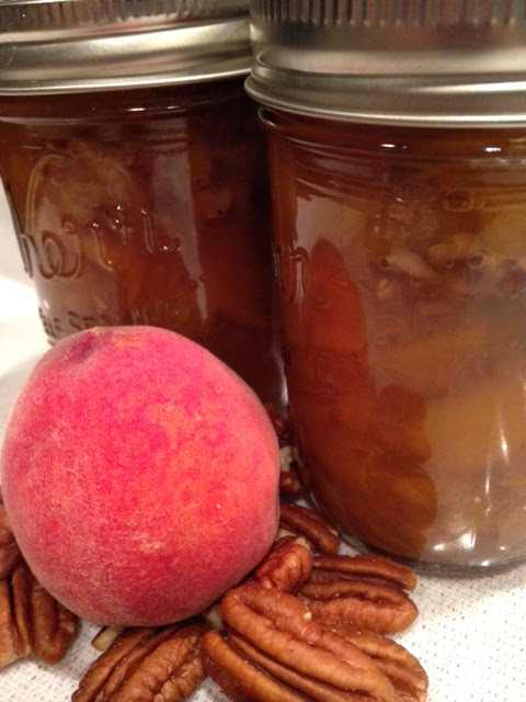 Peach Maple Pecan Conserve