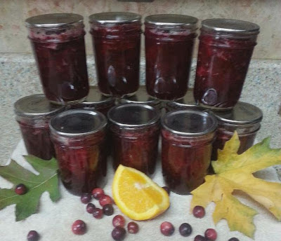 Leslie's Cranberry Orange Sauce