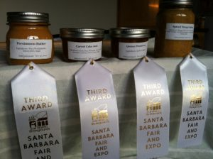 Persimmon Butter, Carrot Cake Jam, Quince Preserve, Spiced Mango Salsa