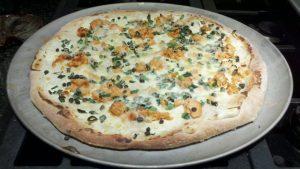 Miranda's Salmon Pizza