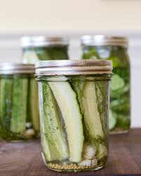 One lone jar of dill pickles!