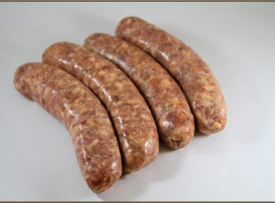 Italian sausage – spicy and a great meal!