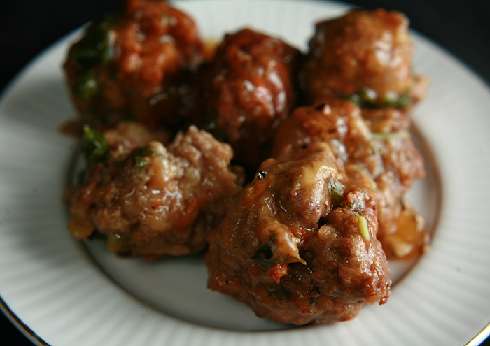 Meatballs in Beef Broth