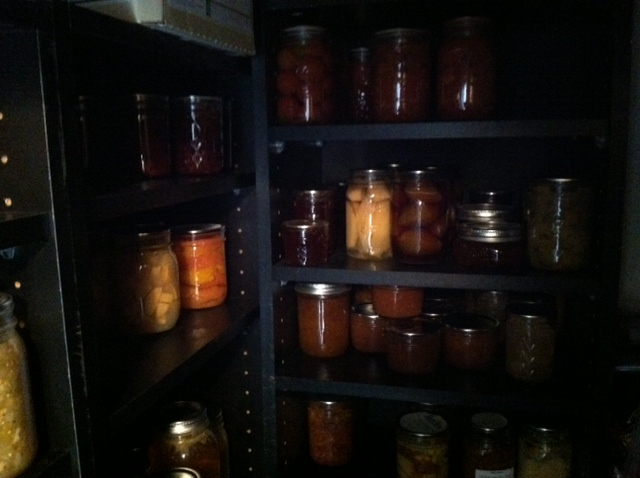 Dark pantry!