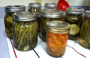 Dilly Beans, Pickled Carrots
