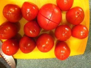 You can do Romas or Slicers this way