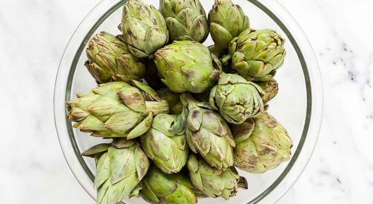 Pickled Baby Artichokes