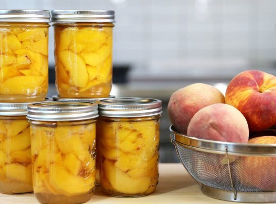 Canning Fruits – Whether to sweeten or not and how long to process!