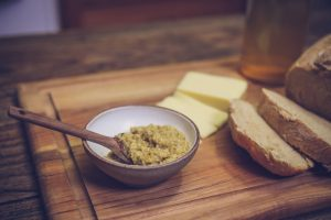 Angela's Hubby's Homemade Homebrew Mustard