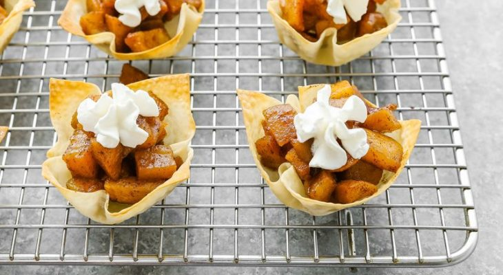 Apple Pie Tartletts