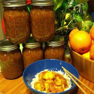Asian Inspired Orange Cooking Sauce