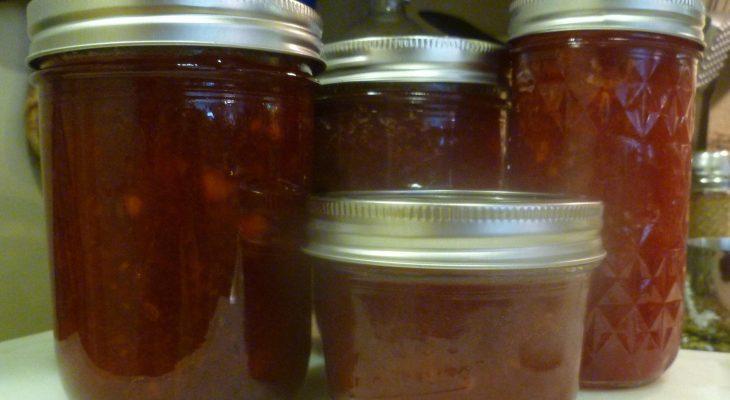 Basic Nectarine Preserve