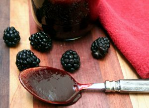 Blackberry Chipotle Glaze