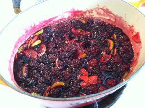 Blackberry Lime Jam