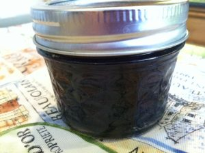 Blueberry Cayenne Wine Jam