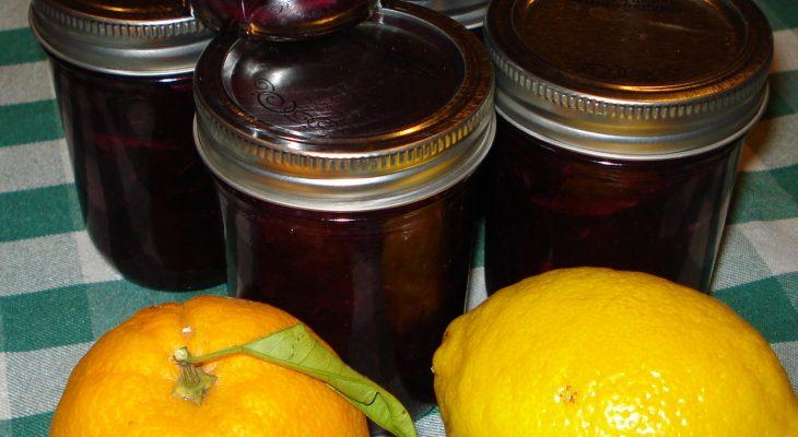 Blueberry Orange Marmalade