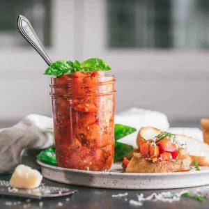 Bruschetta in a Jar