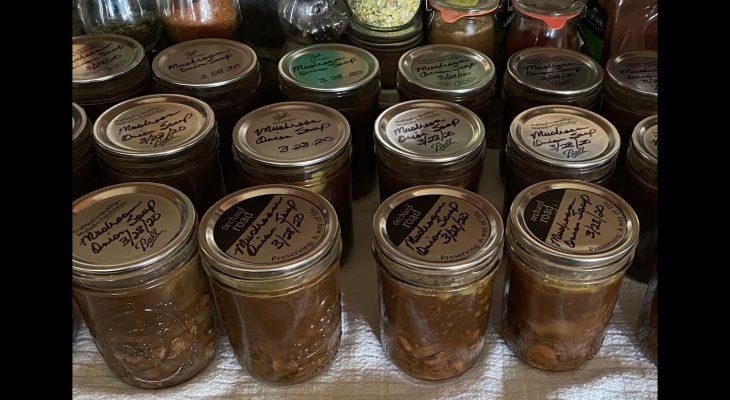 Canning Mushroom Soup Base