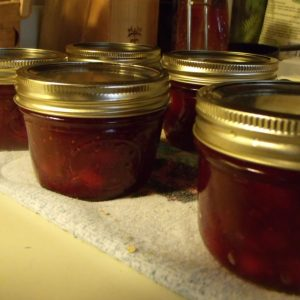 Canning Pear and Cranberry