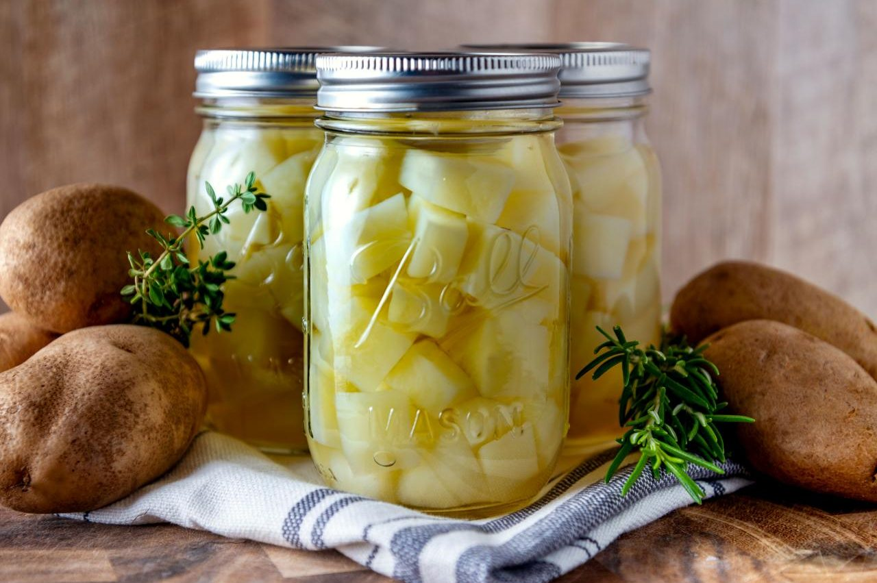 Canning Potatoes – Picture Perfect