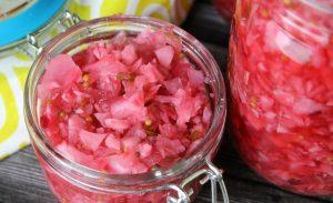 Canning Radish Relish