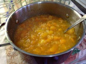 Cantaloupe Pineapple Jam
