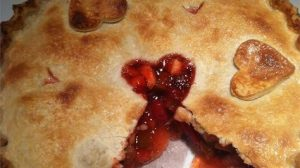Cherry Rhubarb PieFilling