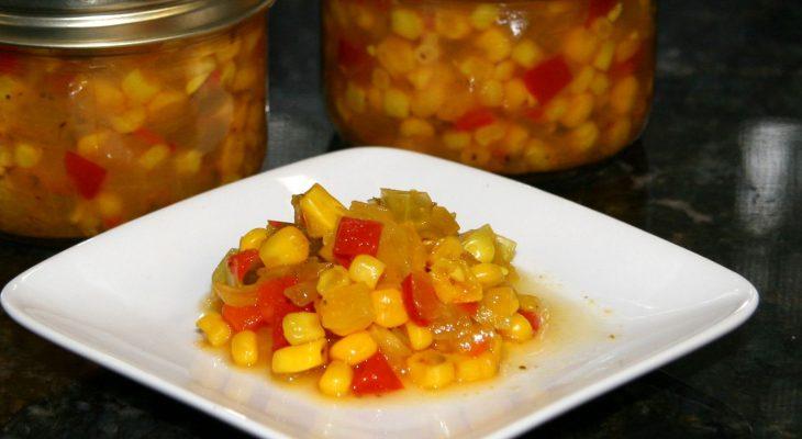 Corn & Cucumber Relish