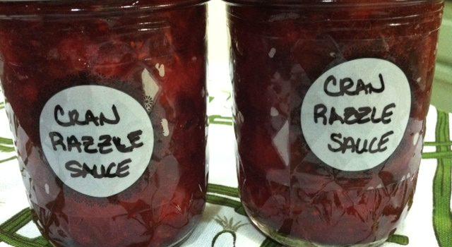Cran Razzle Sauce
