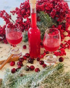 Cranberry Orange Liqueur