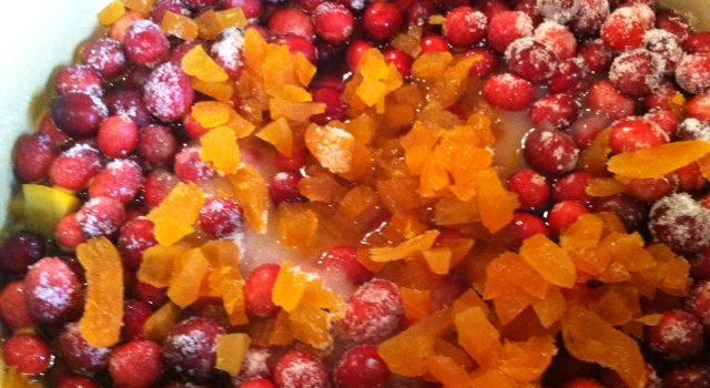 Cranberry Pecan Conserve