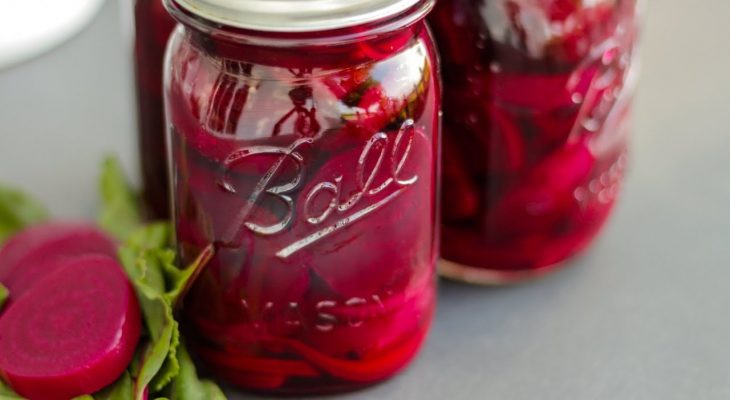 Easy Spiced Pickled Beets