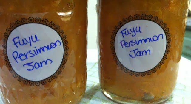 Fuyu Persimmon Jam