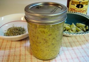 Garlic Mustard Sauce