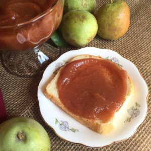 Ginger Pear Butter