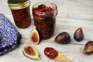 Gingered Lemon Fig Preserves
